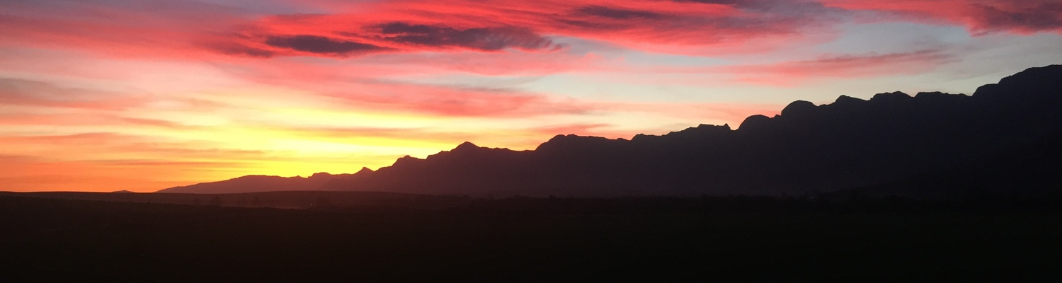 African Crags Sunset Views